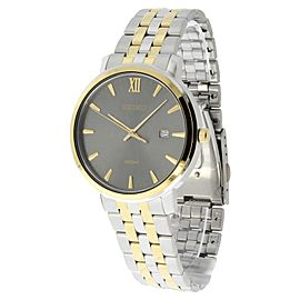 Seiko SUR126 Grey Dial Two Tone Stainless Steel Mens Watch
