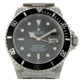 Rolex Submariner 16610 Stainless Steel Black Dial Mens Watch
