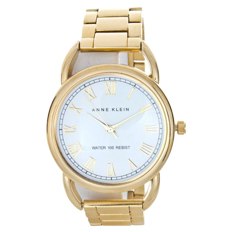 "Image of ""Anne Klein Ak/1178Wtgb Gold-Tone Stainless Steel 37mm Watch"""