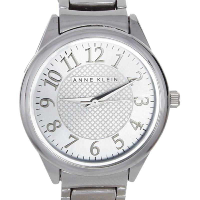 "Image of ""Anne Klein Ak/1603Svsv Silver Dial Stainless Steel Womens Watch"""