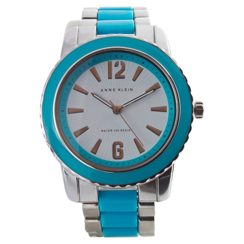 "Image of ""Anne Klein Ak/1195 Two-Tone Stainless Steel & Plastic 40mm Watch"""