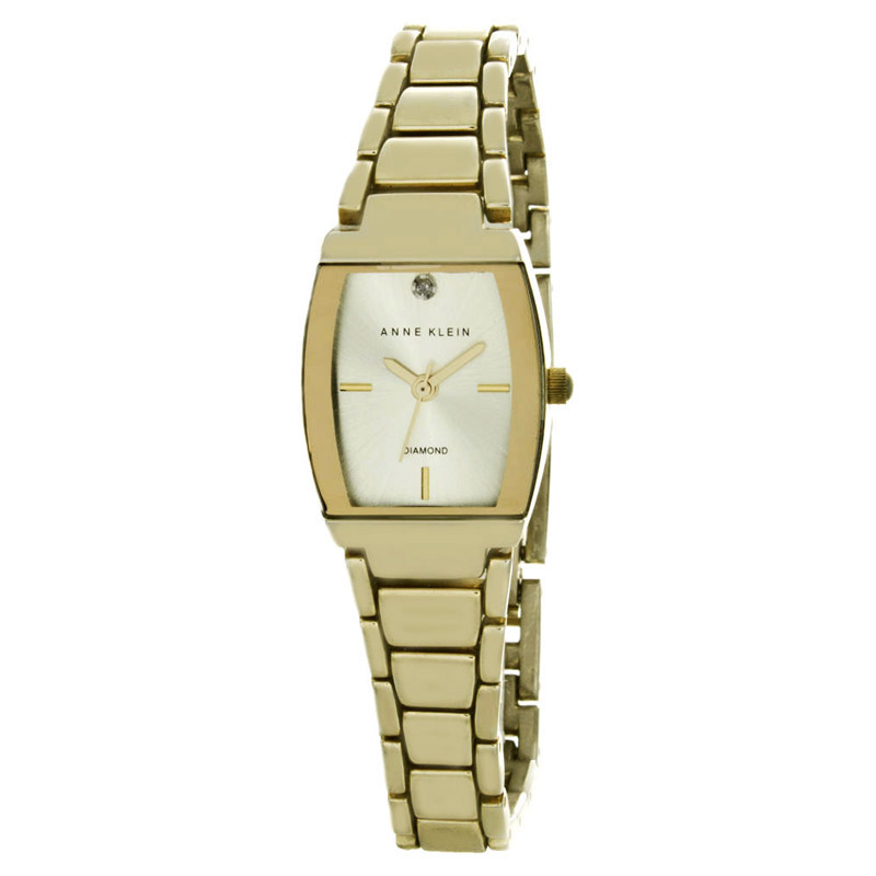 "Image of ""Anne Klein Ak/1904 Gold-Tone Metal 20mm Watch"""