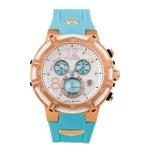 """Image of """"Mulco Mw1-29903-043 Rose Gold-Tone Stainless Steel 43mm Mens Watch"""""""