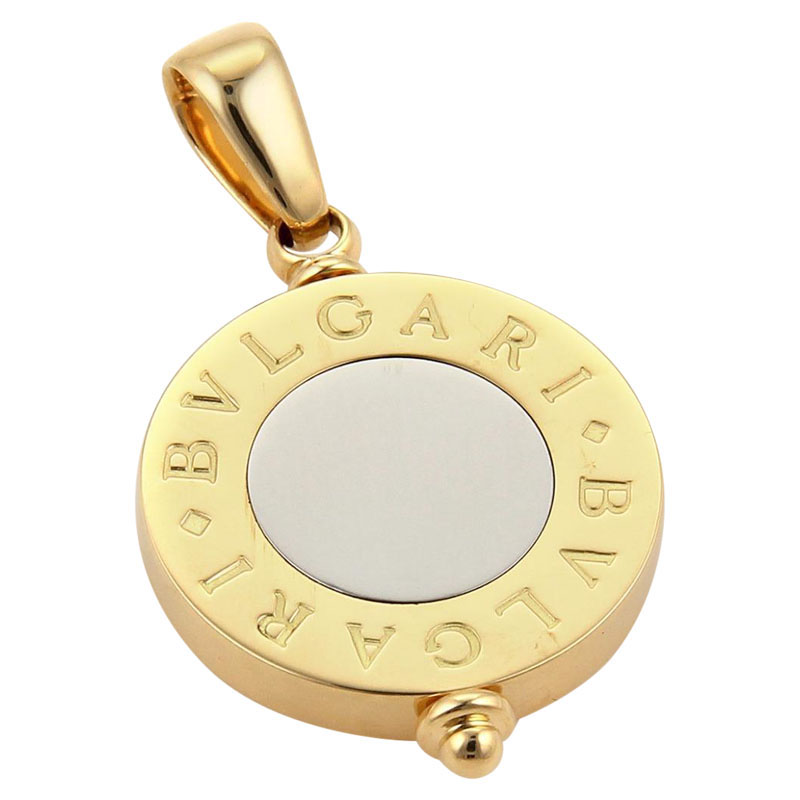 "Image of ""Bvlgari 18k Two Tone 18k Yellow Gold & Stainless Steel Signature"""