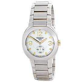 Tissot G470/570 Silver Dial Two-Tone Stainless Steel Bracelet Quartz Men's Watch