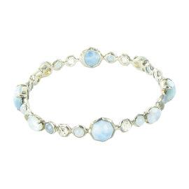 Ippolita Rock Candy Sterling Silver Blue Topaz, Quartz and Turquoise Bracelet
