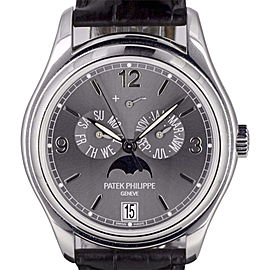Patek Philippe Annual Calendar 5146G-010 18K White Gold Automatic 39mm Mens Watch