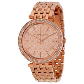 Michael Kors MK3399 Darcy Rose Gold Dial Rose Gold 39mm Womens Watch