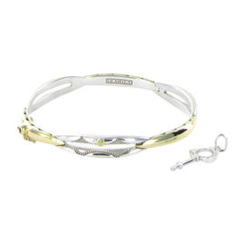 Tacori 18K Yellow Gold & Sterling Silver Promise Bracelet
