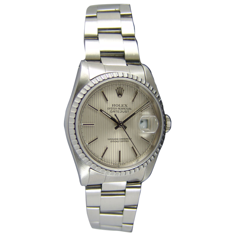 """Image of """"Rolex DateJust 16220 36mm Stainless Steel Watch"""""""