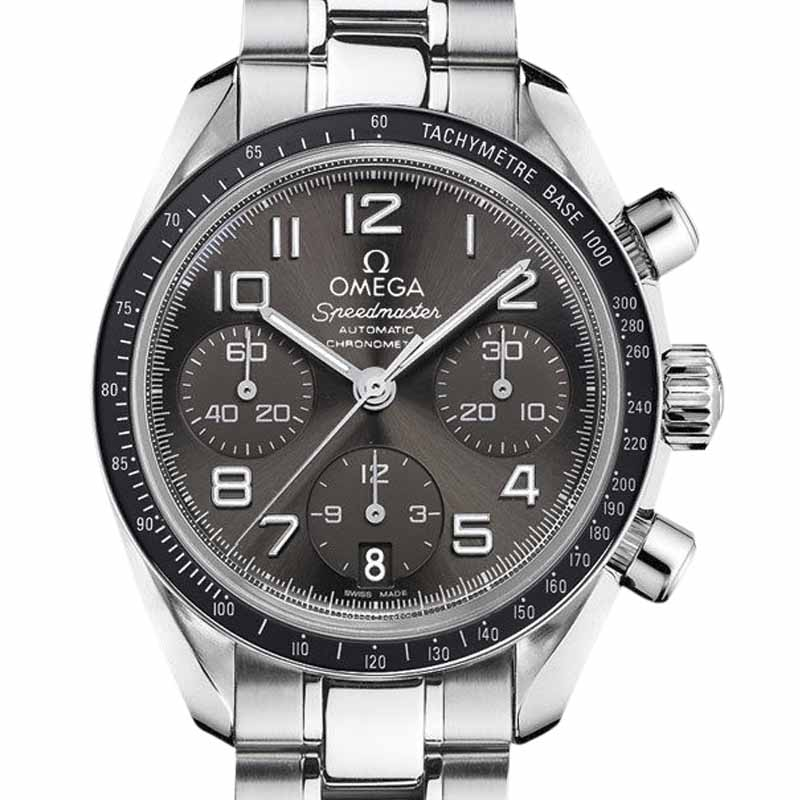 "Image of ""Omega Speedmaster 324.30.38.40.06.001 Chronograph Stainless Steel Grey"""