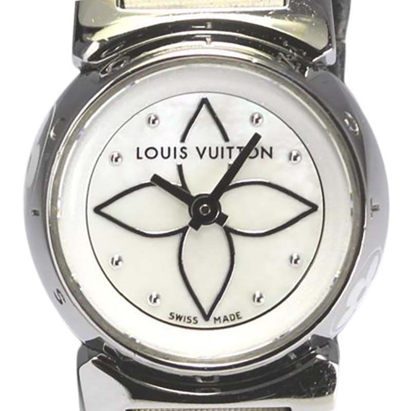 "Image of ""Louis Vuitton Q151C Stainless Steel 18mm Womens Watch"""