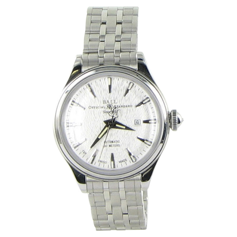 """Image of """"Ball Nl2080D-Sj-Sl Silver Stainless Steel Day Date 30mm Womens Watch"""""""