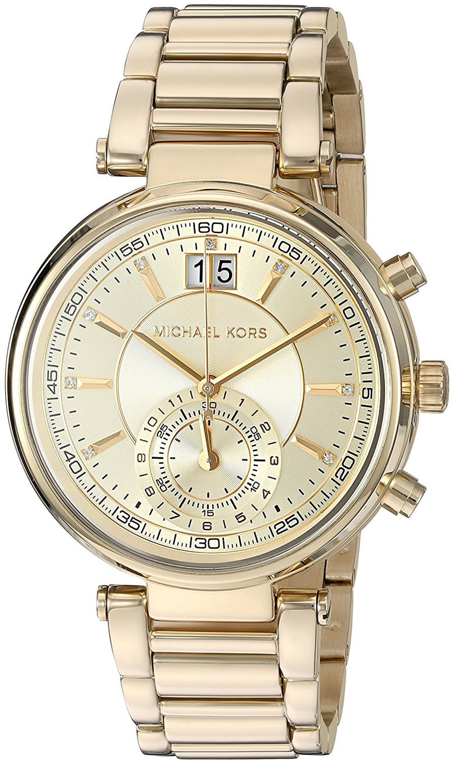 "Image of ""Michael Kors Mk6362 Gold Tone Stainless Steel 39mm Womens Watch"""