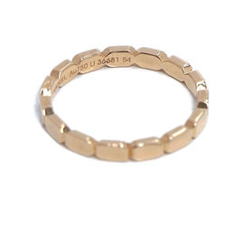 Chanel 750 Rose Gold Promesa Ring Size 6.5
