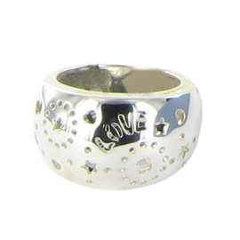 Tous 925 Sterling Silver Lyra Dome