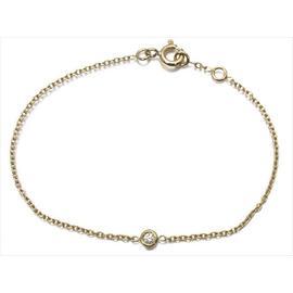 Christian Dior 18k Yellow Gold Diamond Bracelet