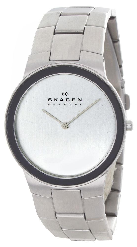 "Image of ""Skagen 430Lsx Stainless Steel 34mm Mens Watch"""