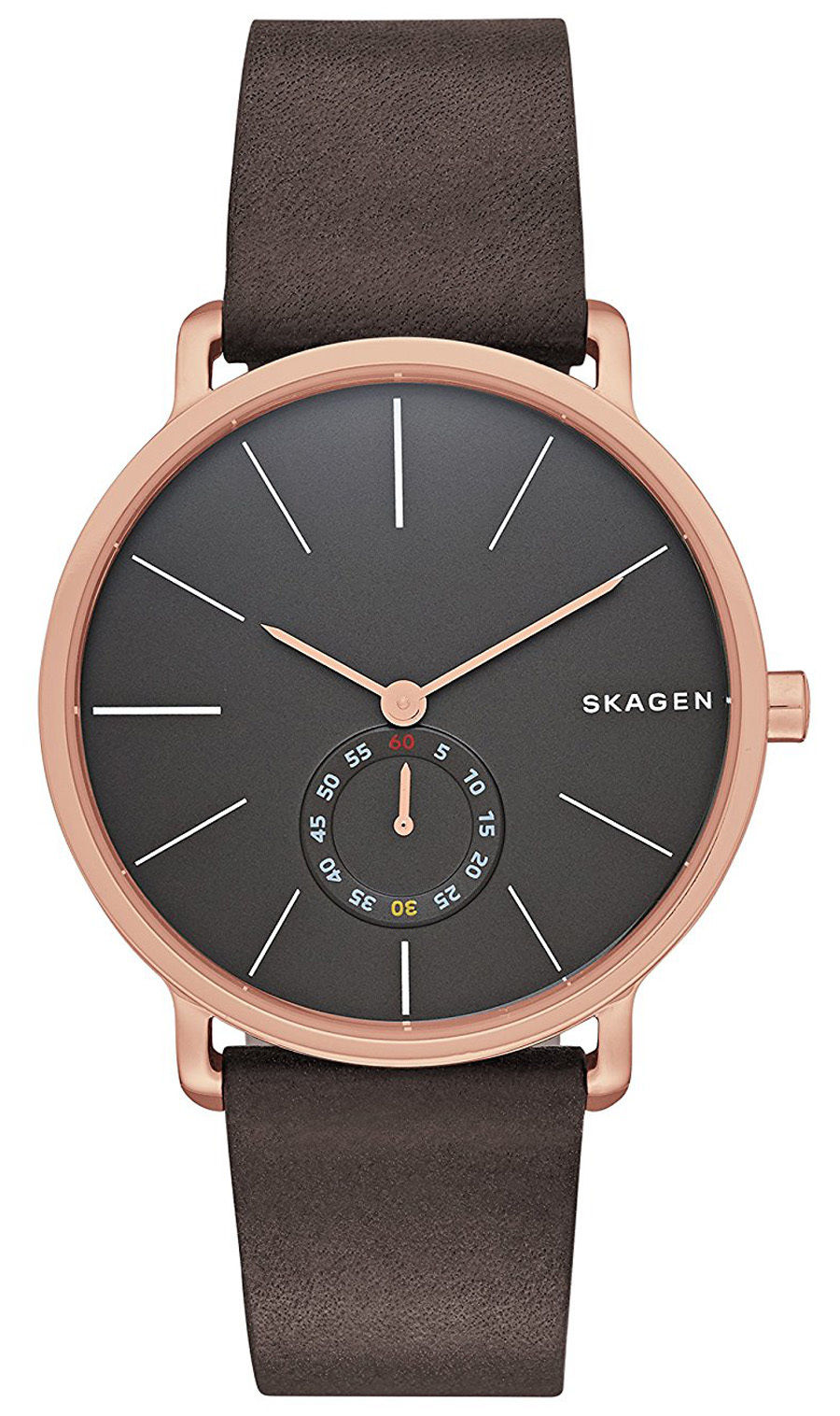 "Image of ""Skagen Skw6213 Rose Gold Stainless Steel Quartz 40mm Mens Watch"""