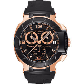 Tissot T048.417.27.057.06 Rose Gold Stainless Steel Quartz 46mm Mens Watch