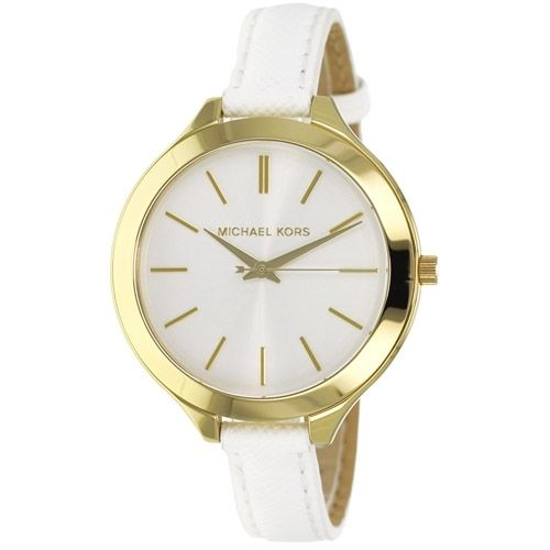 "Image of ""Michael Kors Mk2273 Gold Tone Stainless Steel with White Dial 42mm"""