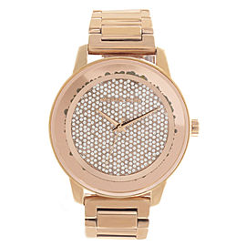 Michael Kors MK6210 Rose Gold Tone Stainless Steel with Rose Gold Dial 41mm Womens Watch