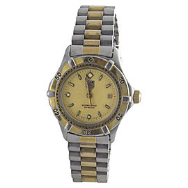 Tag Heuer WE1420-R Two Tone Stainless Steel 35mm Womens Watch