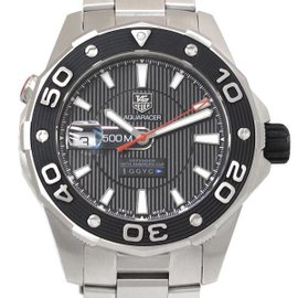 Tag Heuer Aquaracer WAJ211 Stainless Steel 43mm Mens Watch