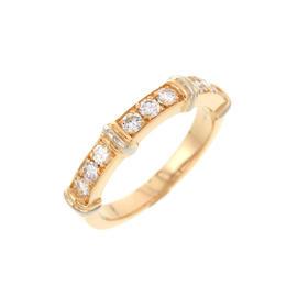 Cartier 750 Yellow Gold Contessa Diamond Ring Size 4
