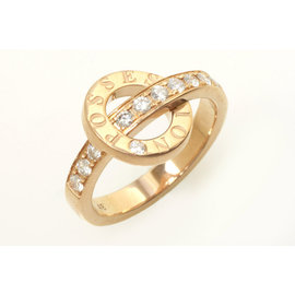 Piaget 750 Rose Gold Ring Size 4