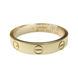 Cartier 18K Rose Gold Mini Love Ring Size 6.25