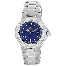 Tag Heuer Professional WL1313 Stainless Steel with Blue Dial 29mm Womens Watch