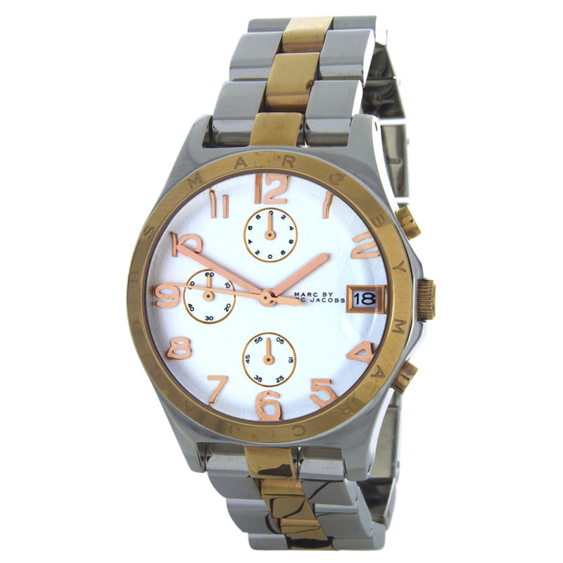 "Image of ""Marc By Marc Jacobs Mbm3070 Two-Tone Stainless Steel 37mm Womens Watch"""