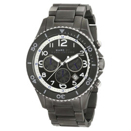 Marc By Marc Jacobs MBM5025 Stainless Steel Black Dial 46mm Womens Watch