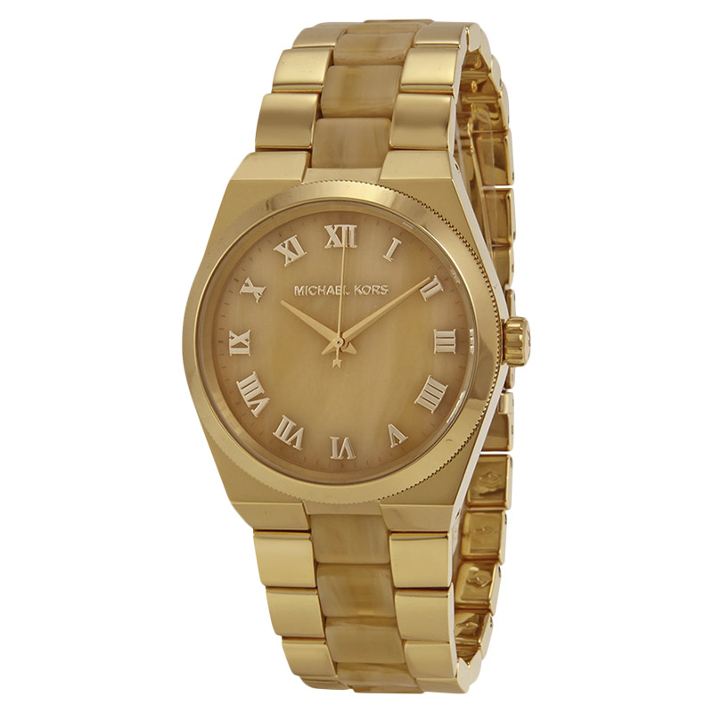 """Image of """"Michael Kors Mk6152 Gold Tone Stainless Steel 38mm Womens Watch"""""""