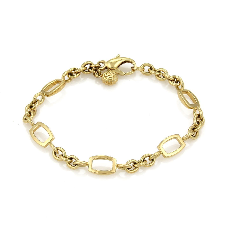 "Image of ""Franck Muller 18K Yellow Gold Talisman Charm Bracelet"""