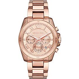 Michael Kors Brecken MK6367 Rose Gold Stainless Steel 40mm Womens Watch