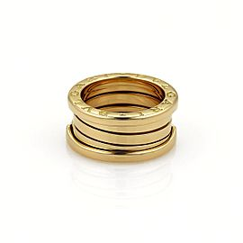 Bulgari Bvlgari B Zero-1 18K Yellow Gold Band Ring Size 4.5
