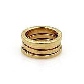 Bulgari B Zero-1 18K Yellow Gold Band Ring Size 5.5