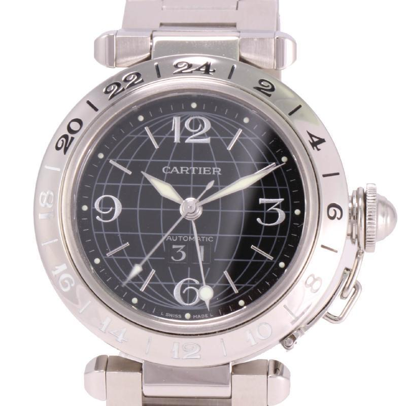 """Image of """"Cartier Pasha C Meridian Big Date 2550 Stainless Steel Automatic 35mm"""""""