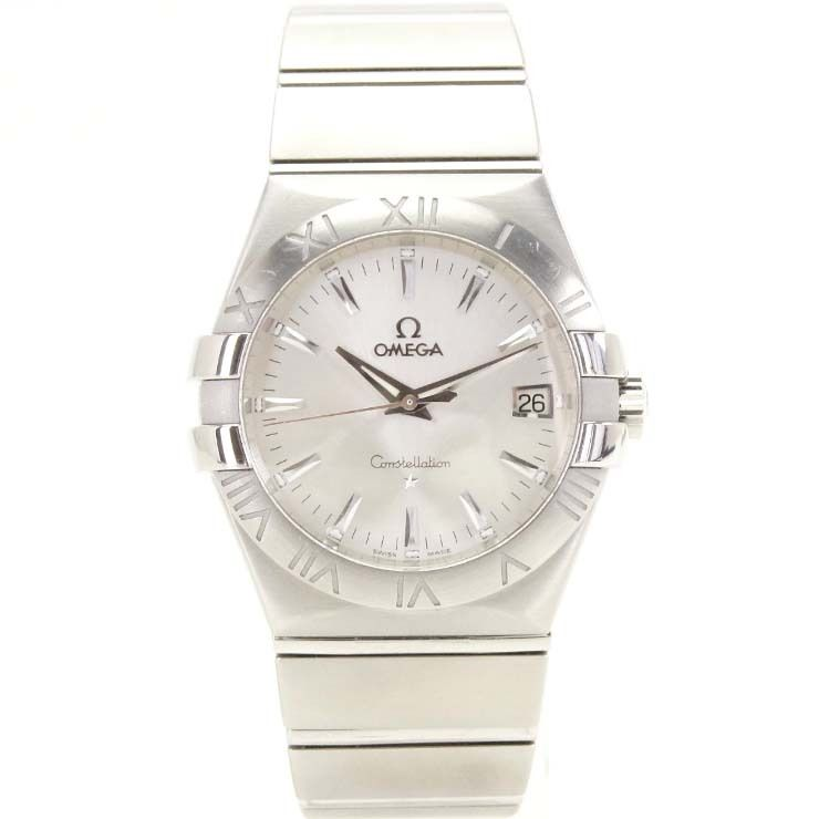 "Image of ""Omega Constellation 123.10.35.60.02.001 Stainless Steel Silver Dial"""