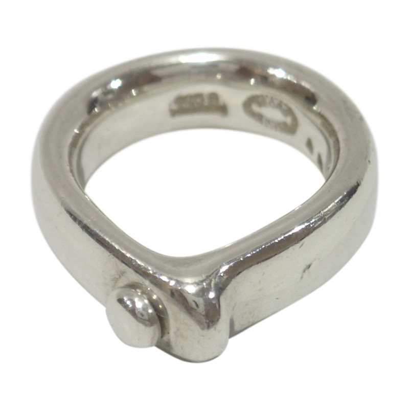 "Image of ""Georg Jensen 925 Sterling Silver Ring Size 5"""