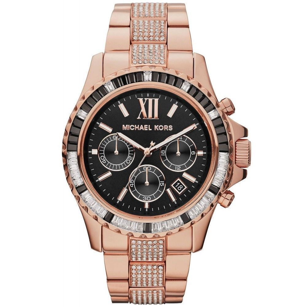 """Image of """"Michael Kors Mk5870 Rose Gold Tone Stainless Steel 40mm Womens Watch"""""""