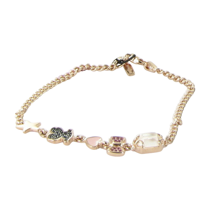 "Image of ""Tous 18K Pink Gold Plated Sterling Silver Pink Vermeil, Spinel, Quartz"""