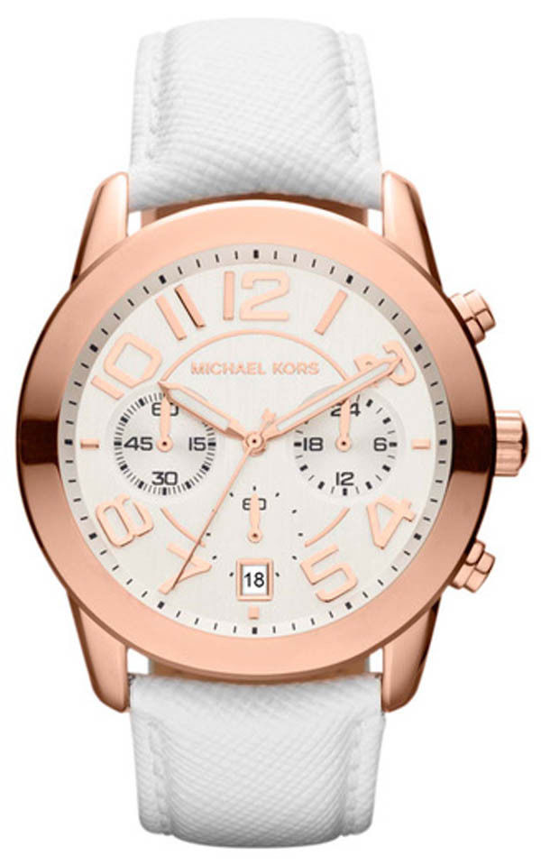 "Image of ""Michael Kors Mk2289 Rose Gold Stainless Steel 42mm Womens Watch"""