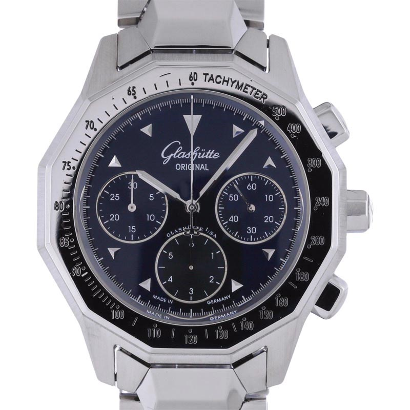 """Image of """"Glashutte Original Sport 10-66-17-09-04 Stainless Steel Automatic"""""""