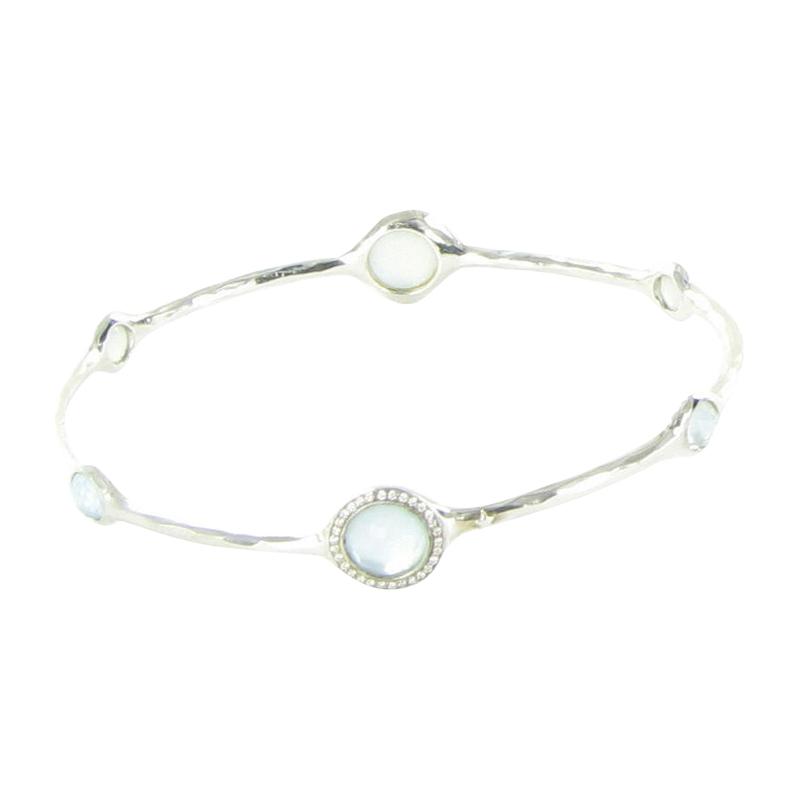 """""Ippolita Lollipop 925 Sterling Silver 0.23ct Diamond Mother Of Pearl"""""" 1910257"