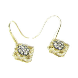 Le Vian Chocolatier 14K Yellow Gold & 0.86ct. Diamond Clusters Earrings