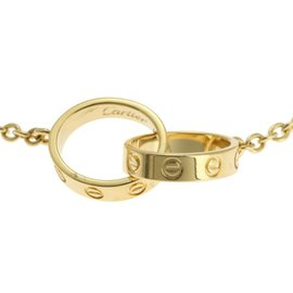 Cartier Baby Love 750 Yellow Gold Necklace