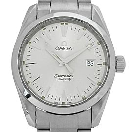 Omega Seamaster Aqua Terra 2518.30 Stainless Steel Silver Dial Quartz 36mm Mens Watch